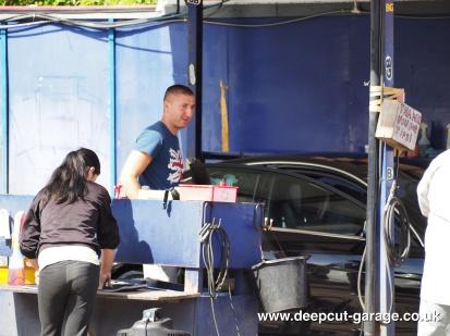 Deepcut Garage Charity Car Wash - August 2015 - 19