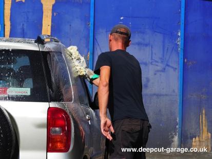 Deepcut Garage Charity Car Wash - August 2015 - 2