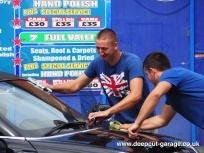 Deepcut Garage Charity Car Wash - August 2015 - 29