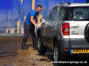 Deepcut Garage Charity Car Wash - August 2015 - 3