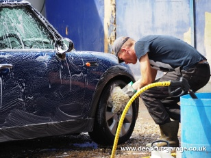 Deepcut Garage Charity Car Wash - August 2015 - 30