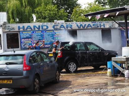 Deepcut Garage Charity Car Wash - August 2015 - 34