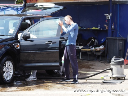 Deepcut Garage Charity Car Wash - August 2015 - 35