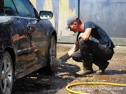 Deepcut Garage Charity Car Wash - August 2015 - 39