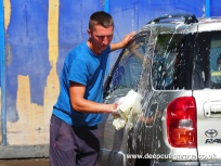 Deepcut Garage Charity Car Wash - August 2015 - 4