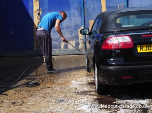 Deepcut Garage Charity Car Wash - August 2015 - 45