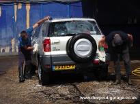Deepcut Garage Charity Car Wash - August 2015 - 5