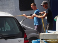 Deepcut Garage Charity Car Wash - August 2015 - 56