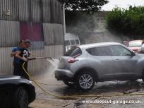Deepcut Garage Charity Car Wash - August 2015 - 74
