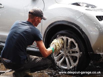 Deepcut Garage Charity Car Wash - August 2015 - 79