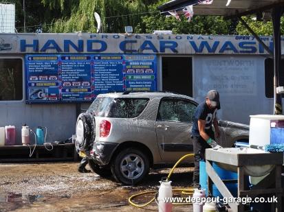 Deepcut Garage Charity Car Wash - August 2015 - 8