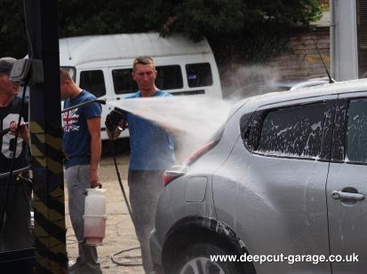 Deepcut Garage Charity Car Wash - August 2015 - 81