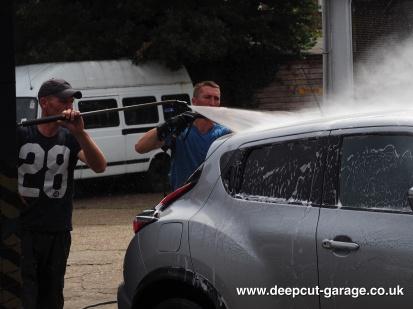 Deepcut Garage Charity Car Wash - August 2015 - 82
