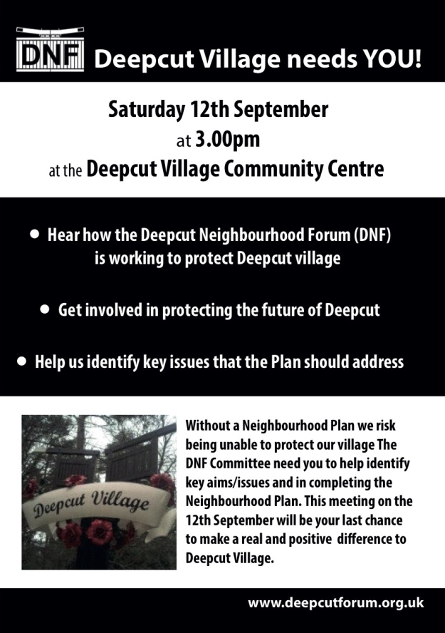 Deepcut Neighbourhood Forum