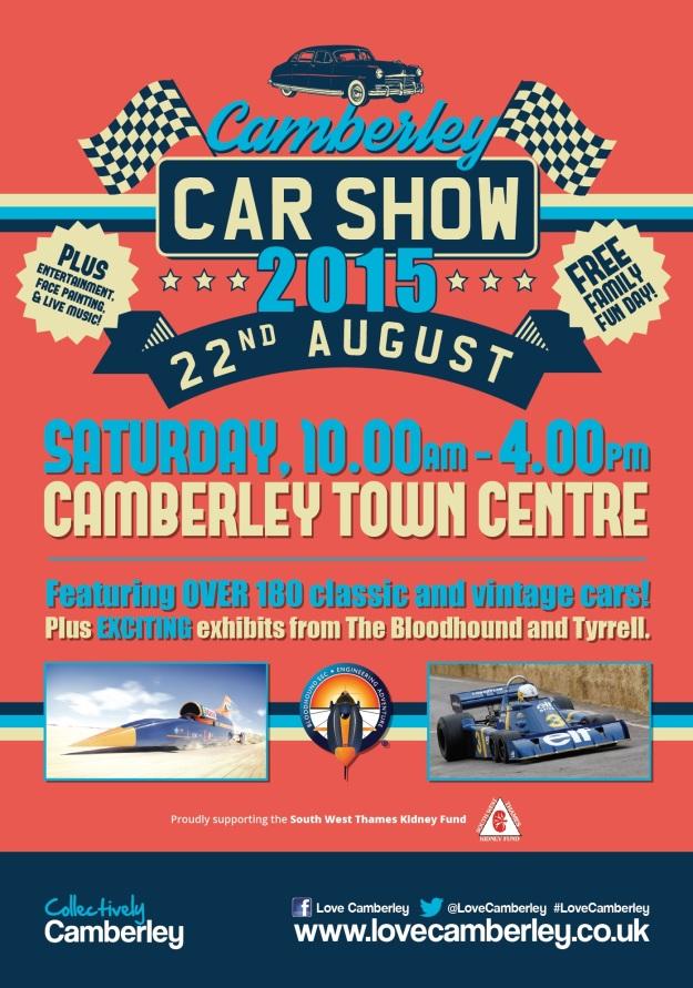 Camberley Car Show 2015