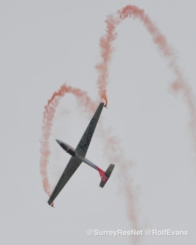 Wings and Wheels 2015 - Rolf Evans - Surrey Residents Network 100