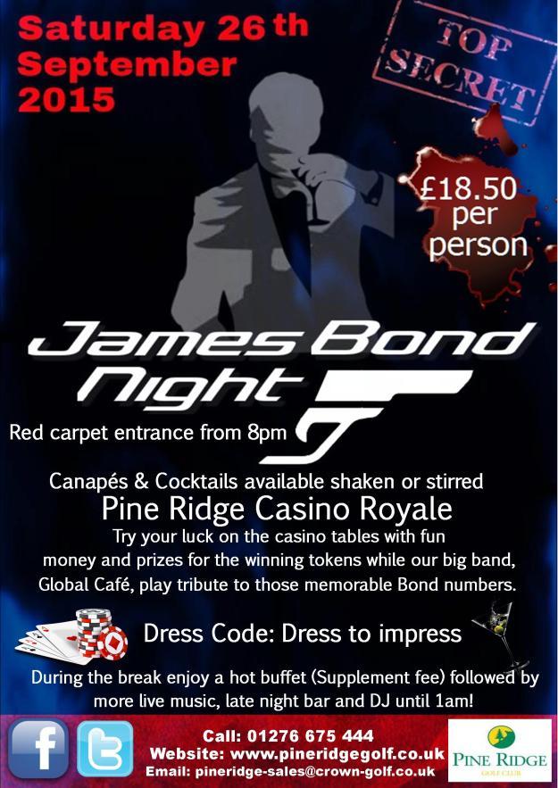 Pine Ridge - James Bond 2015