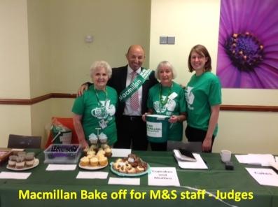 Macmillan M&S Bake Off 1