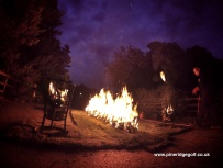 Pine Ridge Golf Club Fire Walk 2015 - Paul Deach - 1