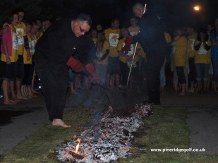 Pine Ridge Golf Club Fire Walk 2015 - Paul Deach - 18