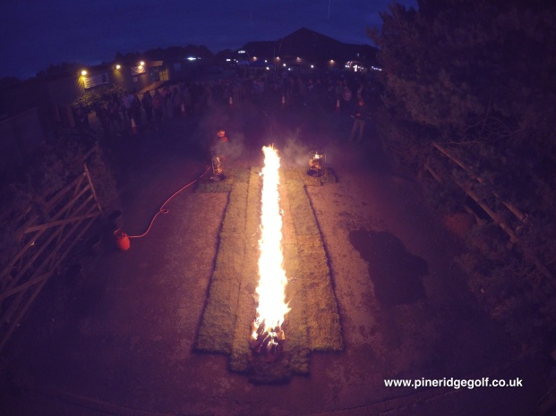 Pine Ridge Golf Club Fire Walk 2015 - Paul Deach - 2