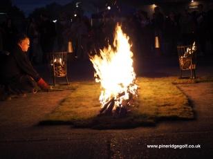 Pine Ridge Golf Club Fire Walk 2015 - Paul Deach - 4