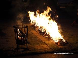 Pine Ridge Golf Club Fire Walk 2015 - Paul Deach - 5