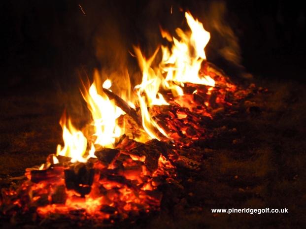 Pine Ridge Golf Club Fire Walk 2015 - Paul Deach - 8