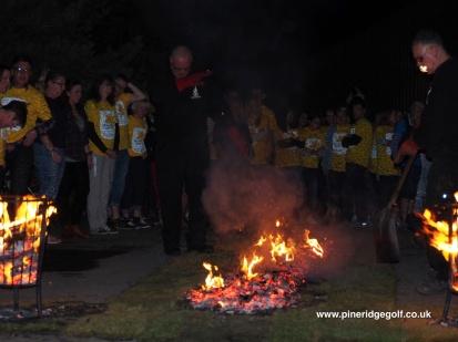 Pine Ridge Golf Club Fire Walk 2015 - Paul Deach - 9