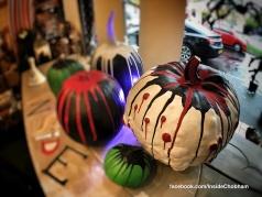 Chalk Paint Pumpkins at Inside Chobham 3