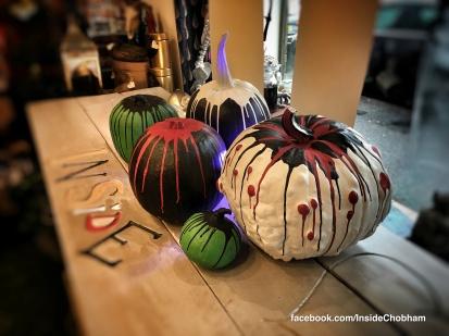 Chalk Paint Pumpkins at Inside Chobham 4