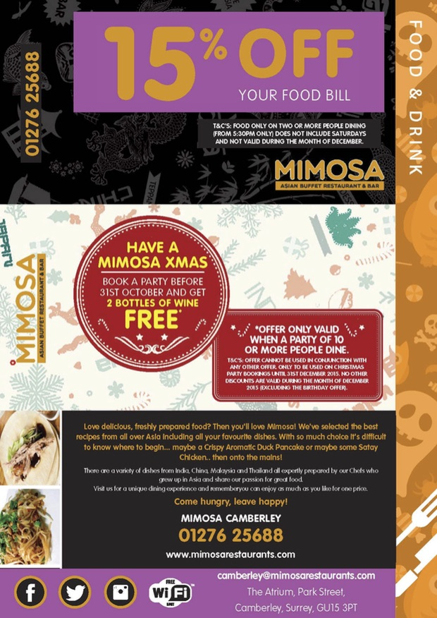 Mimosa Little Book of Offers