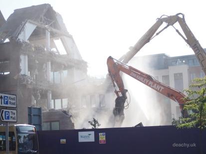 Pembrook House - Demolition - Camberley - Paul Deach 19