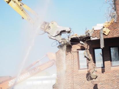 Pembrook House - Demolition - Camberley - Paul Deach 37