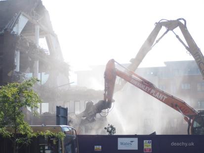 Pembrook House - Demolition - Camberley - Paul Deach 4