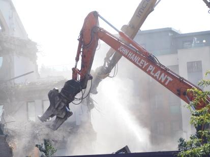 Pembrook House - Demolition - Camberley - Paul Deach 8