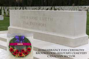 Canadian Remembrance _ Brookwood 2015 - Mike Hillman 1