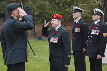 Canadian Remembrance _ Brookwood 2015 - Mike Hillman 18