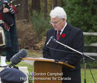 Canadian Remembrance _ Brookwood 2015 - Mike Hillman 22