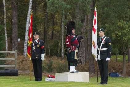Canadian Remembrance _ Brookwood 2015 - Mike Hillman 24