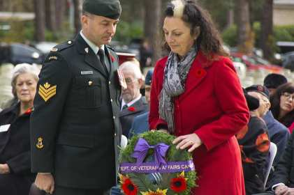 Canadian Remembrance _ Brookwood 2015 - Mike Hillman 40