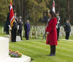 Canadian Remembrance _ Brookwood 2015 - Mike Hillman 41