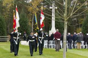 Canadian Remembrance _ Brookwood 2015 - Mike Hillman 50