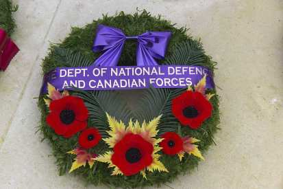 Canadian Remembrance _ Brookwood 2015 - Mike Hillman 52