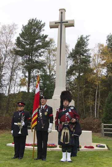 Canadian Remembrance _ Brookwood 2015 - Mike Hillman 56