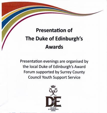 D of E Awards 2015 1