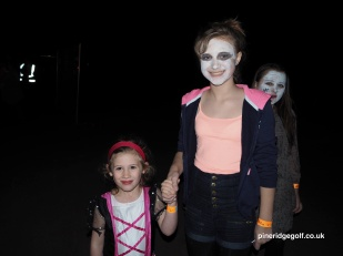 Halloween Firework Extravagansa at Pine Ridge Golf Club 2015 - Paul Deach 80