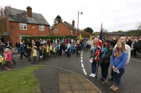 Lightwater Remembrance 2015 No 10