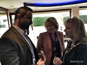 Mayor of Surrey Heath Charity Curry Business Lunch - Paul Deach 11