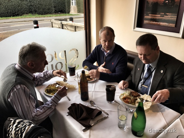 Mayor of Surrey Heath Charity Curry Business Lunch - Paul Deach 7